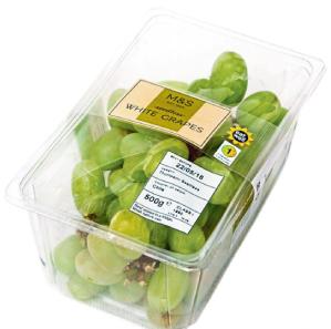 M&S Grapes PerfoTec packaging