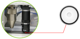 PerfoTec Laser Camera system for micro perforation