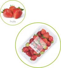 PerfoTec retailers Strawberries packaging